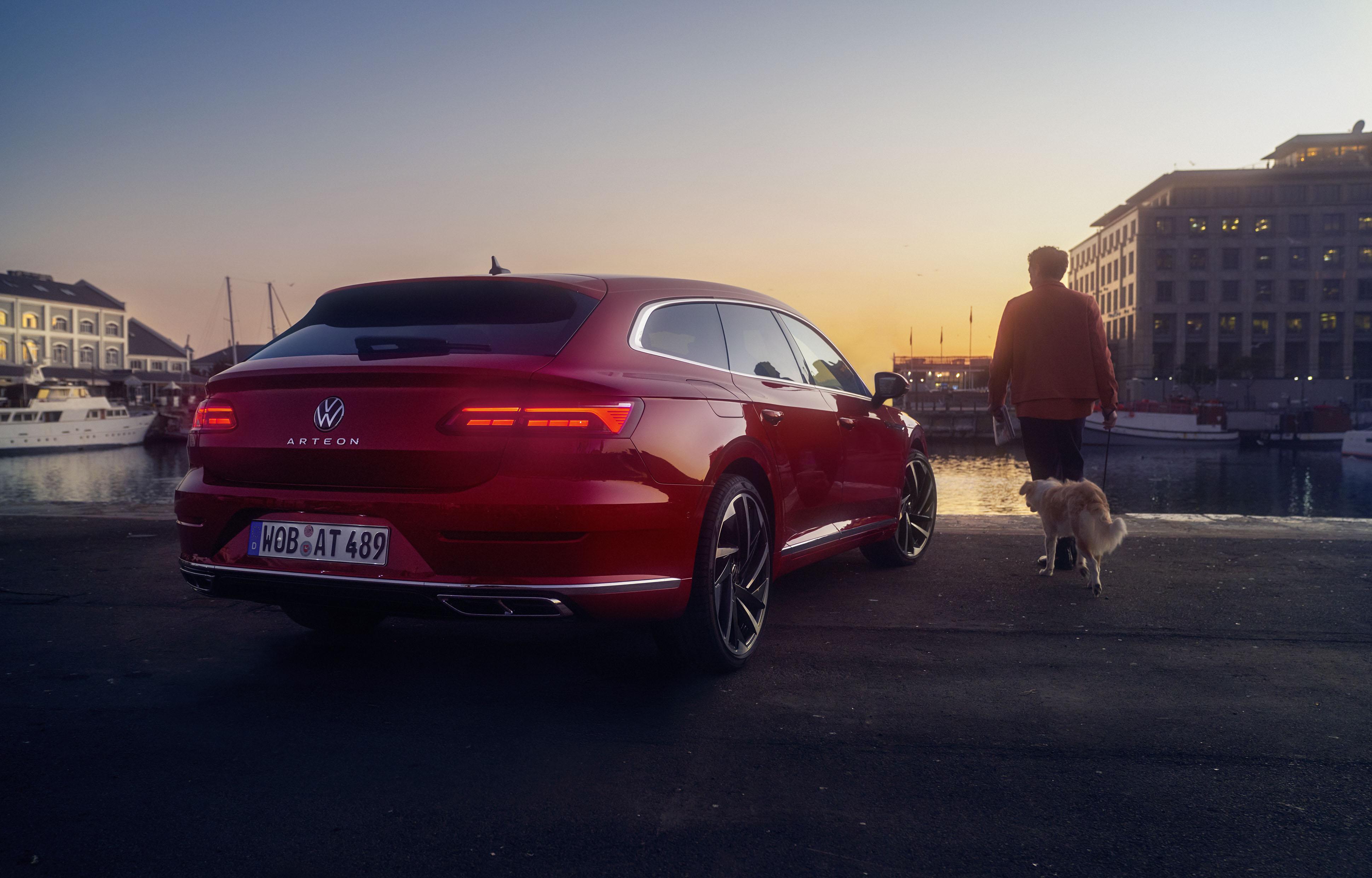 The new VW Arteon shooting brake – HE&ME